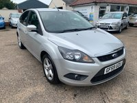 USED 2009 59 FORD FOCUS 1.6 ZETEC 5d 100 BHP ONE YEAR WARRANTY INCLUDED / FULL SERVICE HISTORY / CAM BELT DONE / 12 MONTHS MOT