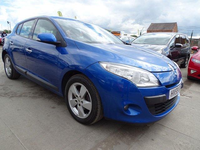 USED 2009 59 RENAULT MEGANE 1.5 DYNAMIQUE DCI CHEAP TAX