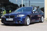 2015 BMW 5 SERIES 2.0 520D M SPORT 4d 188 BHP £15690.00