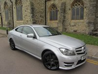 2012 MERCEDES-BENZ C CLASS 2.1 C220 CDI BLUEEFFICIENCY AMG SPORT 2d AUTO 170 BHP £7995.00