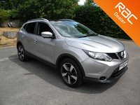 USED 2015 65 NISSAN QASHQAI 1.2 N-TEC PLUS DIG-T XTRONIC 5d 113 BHP Great Size Family Car! Sat Nav, Alloy Wheels, Bluetooth, Parking Cameras/ Sensors, Panoramic Roof