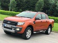 2015 FORD RANGER 3.2 WILDTRAK 4X4 DCB TDCI 1d AUTO 197 BHP £14500.00