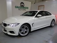 USED 2015 15 BMW 4 SERIES  2.0 420d M Sport 2dr