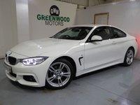 2015 BMW 4 SERIES  2.0 420d M Sport 2dr £11990.00