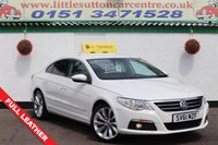 USED 2011 61 VOLKSWAGEN CC 2.0 CC GT TDI BLUEMOTION TECHNOLOGY 4d 168 BHP FULL SERVICE HISTORY, SAT-NAV, FULL LEATHER INTERIOR