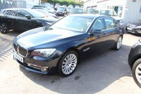 USED 2013 13 BMW 7 SERIES 3.0 730LD SE 4d AUTO 255 BHP