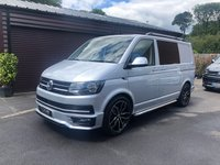 USED 2018 18 VOLKSWAGEN TRANSPORTER 2018 VW Transporter 150ps Highline Custom Kombi Low deposit finance arranged with HP up to ten years