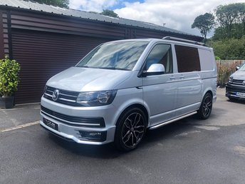2018 VOLKSWAGEN TRANSPORTER 2018 VW Transporter 150ps Highline Custom Kombi £27000.00