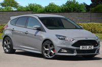 USED 2015 15 FORD FOCUS 2.0 ST-3 5d 247 BHP Ford SYNC 2 NAV Recaro Leather