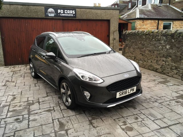 2018 18 FORD FIESTA 1.0 ECOBOOST ACTIVE X 5d 99 BHP