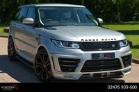 USED 2017 17 LAND ROVER RANGE ROVER SPORT 3.0 SD V6 HSE CommandShift 2 4X4 (s/s) 5dr NAV+CAMERA+LUMMA KIT