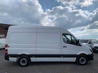 USED 2014 63 MERCEDES-BENZ SPRINTER 2.1 313 CDI MWB FACELIFT HIGH ROOF MWB, FACELIFT, ONE OWNER, FDSH, CRUISE, TIDY VAN