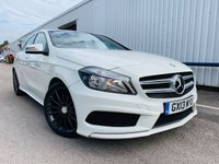 2013 MERCEDES-BENZ A CLASS 1.6 A200 BLUEEFFICIENCY AMG SPORT 5d 156 BHP £12750.00