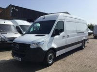 USED 2018 68 MERCEDES-BENZ SPRINTER 2.1 314CDI LWB HIGH ROOF 141BHP EURO 6. ONLY 15,000 MILES. PX  ONLY 15,000 MILES. NEW SHAPE. MERC WARRANTY 10.2020. FINANCE. PX