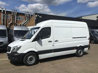 USED 2017 66 MERCEDES-BENZ SPRINTER 2.1 314CDI MWB HIGH ROOF 140BHP EURO6. 49K. WARRANTY 2020. PX EURO 6. LOW 49K. F/S/H. FINANCE. PX WELCOME. CHOICE OF 50.