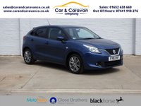 USED 2016 16 SUZUKI BALENO 1.0 SZ3 BOOSTERJET 5d 111 BHP One Owner Full Suzuki History Buy Now, Pay Later Finance!