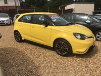 USED 2015 64 MG 3 1.5 3 STYLE LUX VTI-TECH 5d 106 BHP FULL DEALER SERVICE HISTORY: