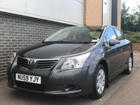 USED 2009 59 TOYOTA AVENSIS 2.0 T2 D-4D 4d 125 BHP