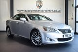 """USED 2011 11 LEXUS IS 2.5 250 F SPORT 4DR 204 BHP  * NO ADMIN FEES * FINISHED IN STUNNING METALLIC SILVER WITH HALF BLACK LEATHER INTERIOR + FULL SERVICE HISTORY + TELEPHONE CONNECTION + HEATED ELECTRIC SEATS + CRUISE CONTROL + DAB RADIO + PARKING SENSORS + 18"""" ALLOY WHEELS"""