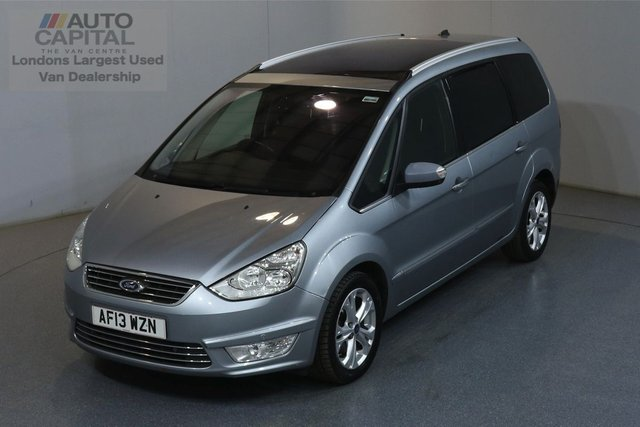 2013 13 FORD GALAXY 2.2 TITANIUM TDCI 5d 197 BHP 7 SEATS AIR CON FRONT-REAR PARKING SENSORS, ALLOY WHEEL
