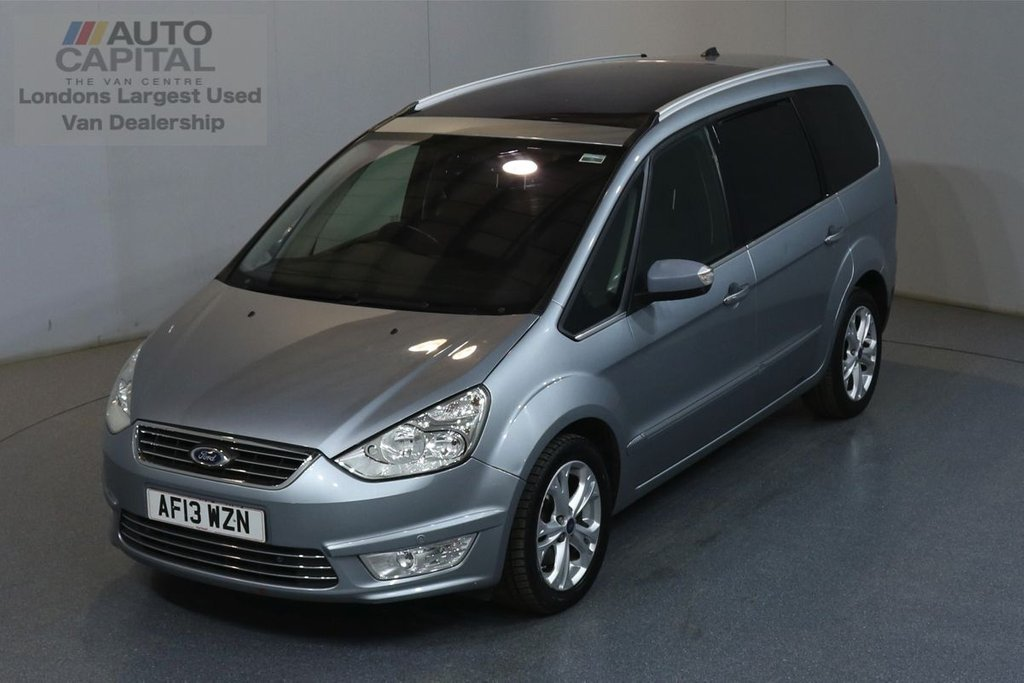 USED 2013 13 FORD GALAXY 2.2 TITANIUM TDCI 5d 197 BHP 7 SEATS AIR CON FRONT-REAR PARKING SENSORS, ALLOY WHEEL