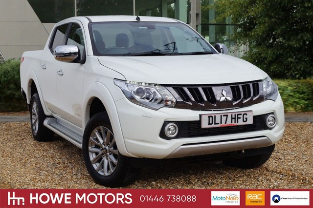 2017 17 MITSUBISHI L200 2.4 DI-D 4WD WARRIOR DCB 178 BHP NAVIGATION FULL HEATED LEATHER BI-XENON REVERSE CAMERA