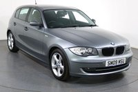USED 2009 09 BMW 1 SERIES 2.0 116I SPORT 5d 121 BHP 2 OWNERS with 7 Stamp SERVICE HISTORY inc TIMING CHAIN