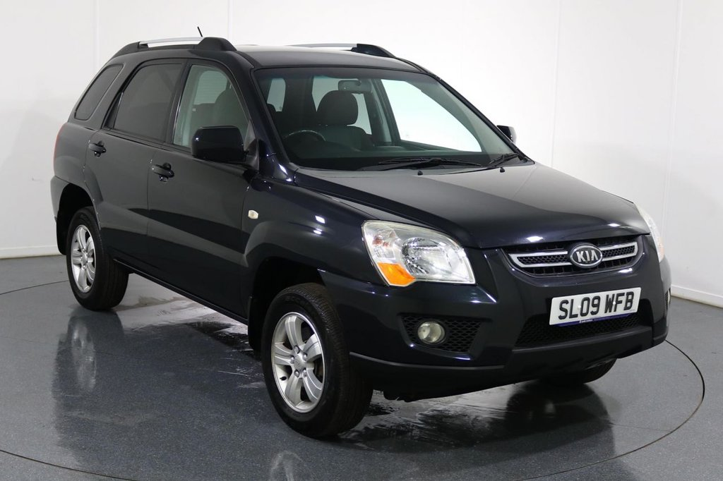 USED 2009 09 KIA SPORTAGE 2.0 XE 5d 140 BHP 9 Stamp SERVICE HISTORY inc CAMBELT