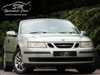 USED 2004 54 SAAB 9-3 2.0 LINEAR T 2d 150 BHP DRIVES SUPERB A/C VGC