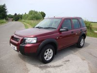 USED 2005 LAND ROVER FREELANDER 2.0 TD4 S STATION WAGON 5d 110 BHP Freelander 2.0 td4, S in Red with black cloth interior.