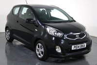 USED 2014 14 KIA PICANTO 1.0 1 3d 68 BHP ONE OWNER with 4 Stamp SERVICE HISTORY