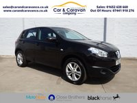 USED 2012 62 NISSAN QASHQAI 1.5 ACENTA DCI 5d 110 BHP Nissan History Bluetooth A/C Buy Now, Pay Later Finance!