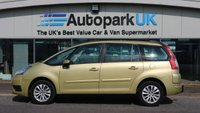 2008 CITROEN C4 GRAND PICASSO 1.8 VTR PLUS 16V 5d 124 BHP £2995.00