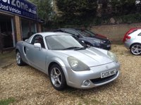 2006 TOYOTA MR2 1.8 ROADSTER HARD TOP 2d 138 BHP £2991.00