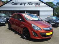 2013 VAUXHALL CORSA 1.2 16V LIMITED EDITION 3d - BLACK ROOF + ALLOYS £4790.00