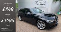 USED 2017 67 BMW 3 SERIES 2.0 320D M SPORT TOURING 5d AUTO 188 BHP