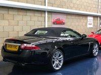 USED 2009 09 JAGUAR XK 4.2 Convertible 2dr Petrol Automatic (294 g/km, 420 bhp) +FULL SERVICE+WARRANTY+FINANCE