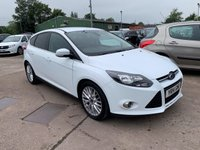 USED 2014 14 FORD FOCUS 1.6 ZETEC TDCI 5d 113 BHP ONLY £20 PER YEAR ROAD TAX