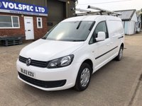 USED 2014 63 VOLKSWAGEN CADDY MAXI 1.6 C20 TDI STARTLINE BMT 102 BHP AIR CON