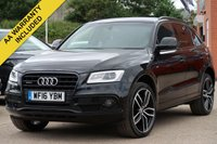 USED 2016 16 AUDI Q5 3.0 TDI QUATTRO S LINE PLUS 5d AUTO 258 BHP NAVIGATION, LEATHER + ELECTRIC MEMORY DRIVER SEAT