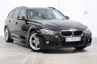 USED 2013 63 BMW 3 SERIES BMW 3 Series 2.0 320d BluePerformance M Sport Touring (s/s) 5dr Leather+ Satnav + Parking Aid