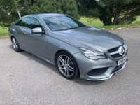 USED 2014 64 MERCEDES-BENZ E CLASS 2.1 E250 CDI AMG LINE 2d AUTO 201 BHP NEW SHAPE AMG LINE COUPE WITH FULL MERCEDES SERVICE HISTORY