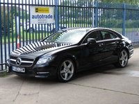2013 MERCEDES-BENZ CLS CLASS 2.1 CLS250 CDI BLUEEFFICIENCY AMG SPORT 4d AUTO 204 BHP £14500.00