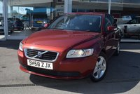 USED 2008 58 VOLVO S40 2.0 S D 4d 135 BHP FINANCE TODAY WITH NO DEPOSIT