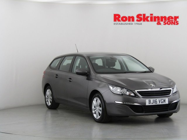 View our 2016 16 PEUGEOT 308 1.6 BLUE HDI S/S SW ACTIVE 5d 120 BHP