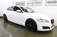 USED 2014 14 JAGUAR XF 3.0 Supercharged Portfolio (s/s) 4dr BLACK PACK! TWO TONE LEATHER!