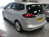 USED 2015 15 VAUXHALL ZAFIRA TOURER 2.0 SRI CDTI 5d 128 BHP ANY PART EXCHANGE WELCOME, COUNTRY WIDE DELIVERY ARRANGED, HUGE SPEC