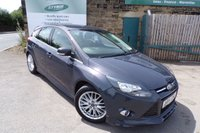 USED 2014 14 FORD FOCUS 1.6 ZETEC S TDCI 5d 113 BHP Two Owners Ford Service History Only £20 Road Tax