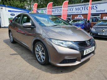 2012 HONDA CIVIC 1.8 I-VTEC SE 5d 140 BHP £6550.00