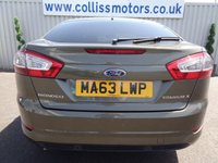 USED 2013 63 FORD MONDEO 2.0 TITANIUM X BUSINESS EDITION TDCI 5d AUTO 161 BHP